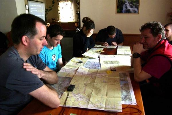 David na kurzu orientace a navigace