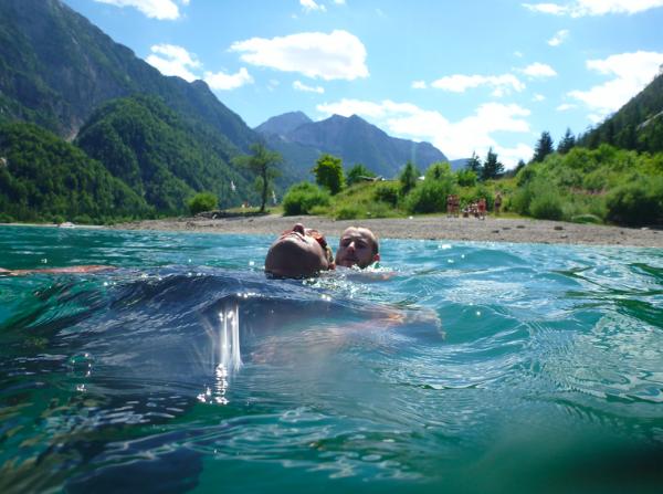 Roman při zkoušce zvodní záchrany– Letní hodnoceníUIMLA